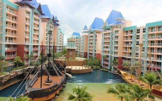 The Grande Caribbean Condo Resort In The Thai Coastal City Of Pattaya, Pattaya Bay Real Estate