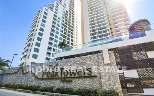 公寓出售 The Peak Tower 帕山, Pattaya Bay Real Estate