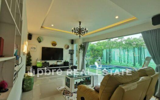 House in Siam Country with Pool for Rent, Pattaya Bay Real Estate